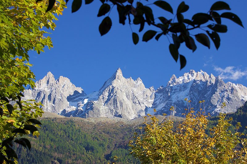 montañas de chamonix, mont blanc