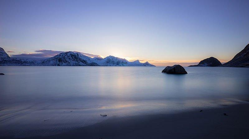 Haukland islas lofoten noruega que ver