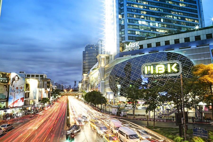 mbk centro comercial bangkok