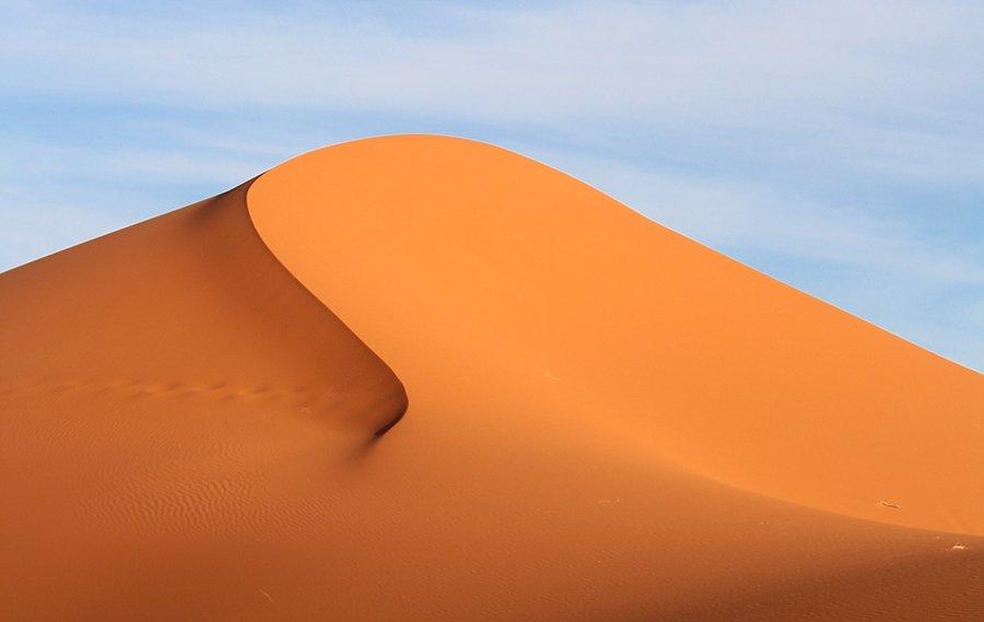 Desierto del Sahara. Merzouga
