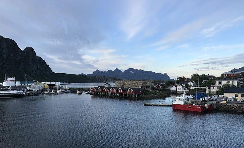 Svolvær islas lofoten noruega