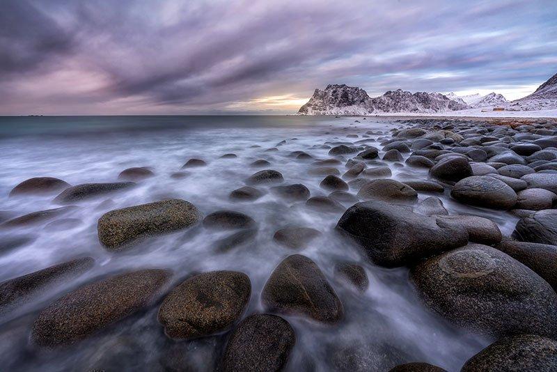 playa de Uttakleiv islas lofoten
