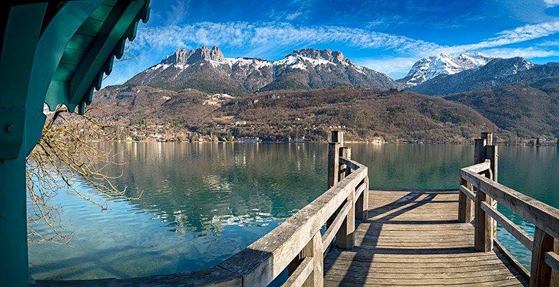Lago de annecy, lac de annecy
