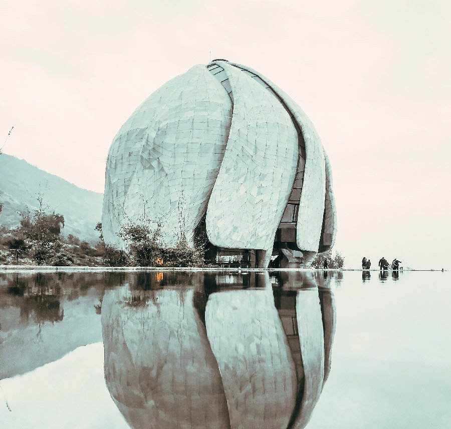 templo bahai santiago de chile