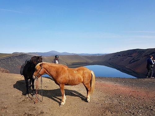 Ljotipollur caballos crater