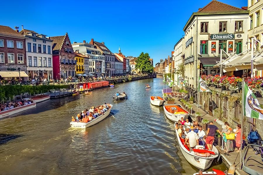 canales Gante