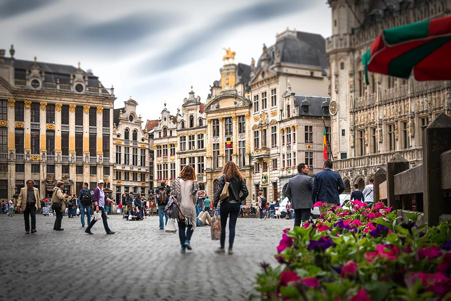 centro de la ciudad bruselas