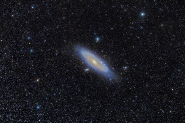 andromeda astrofotografia