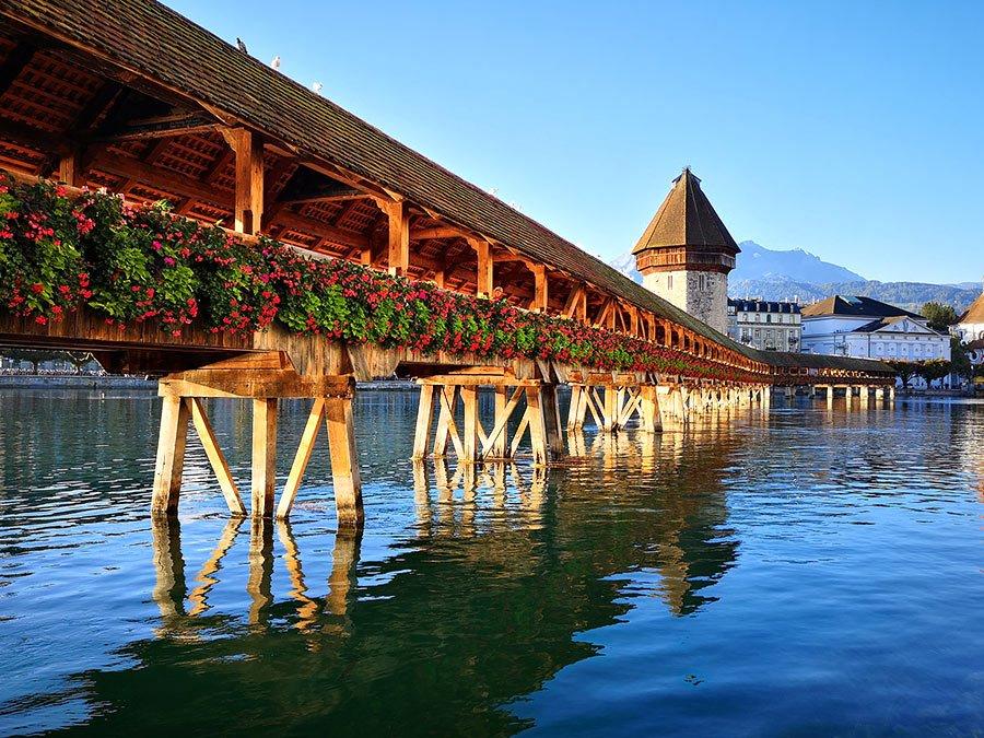 Lago de los Cuatro Cantones o Lago Lucerna