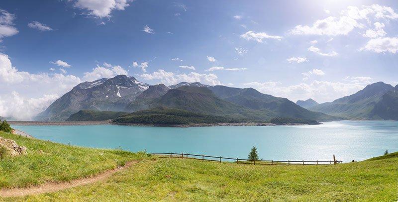 lago de mont cenis, montcenisio
