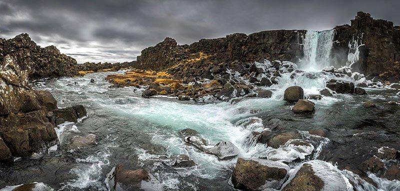 Öxarárfoss Parque Nacional Thingvellir
