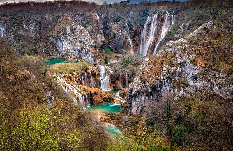 cascada lagos plitvice