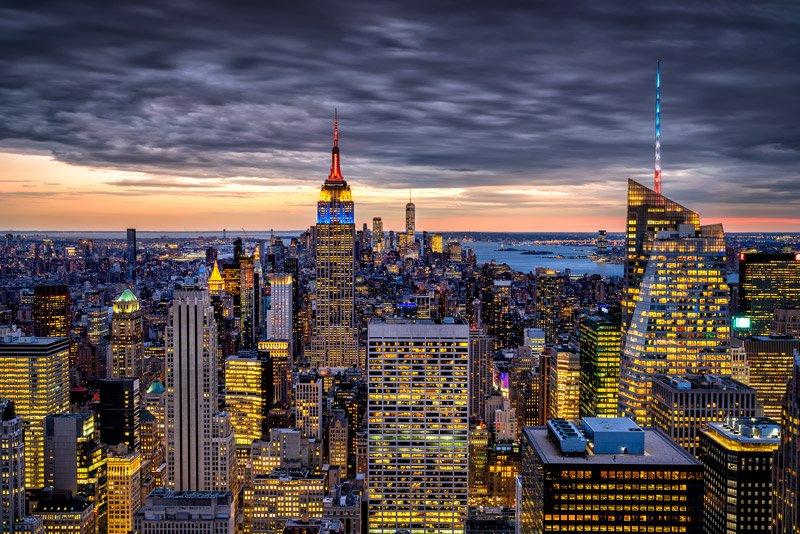 top of the rock nueva york