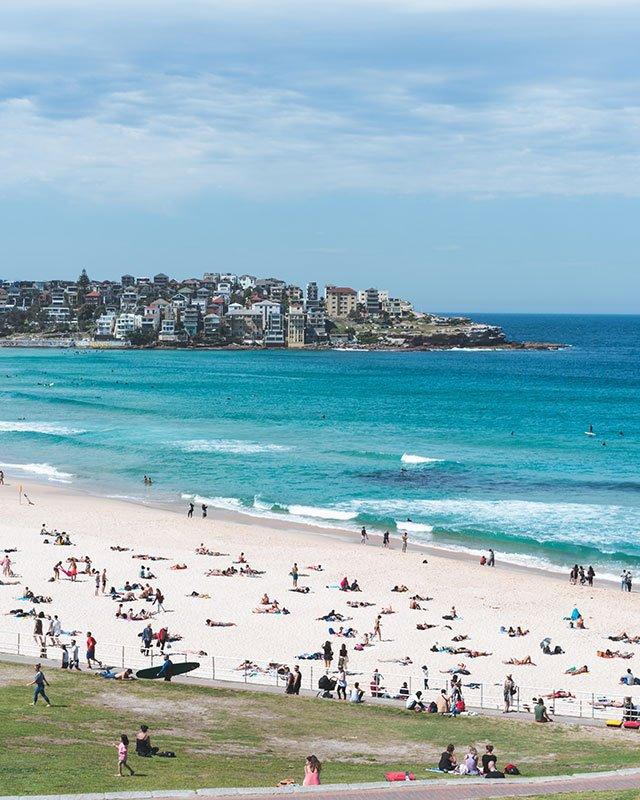 Playa de Bondi sydney playas de australia mas bonitas