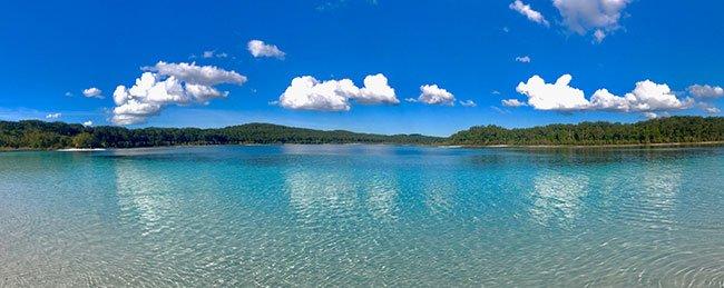 Lago mckenzie isla fraser australia