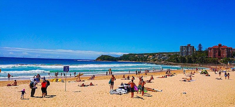 Playa de Manly sydney australia
