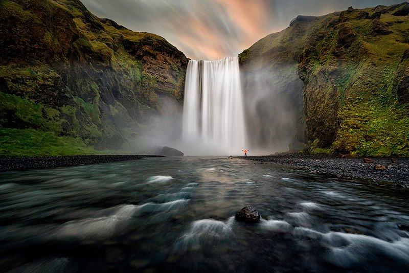 foto islandia skogafoss