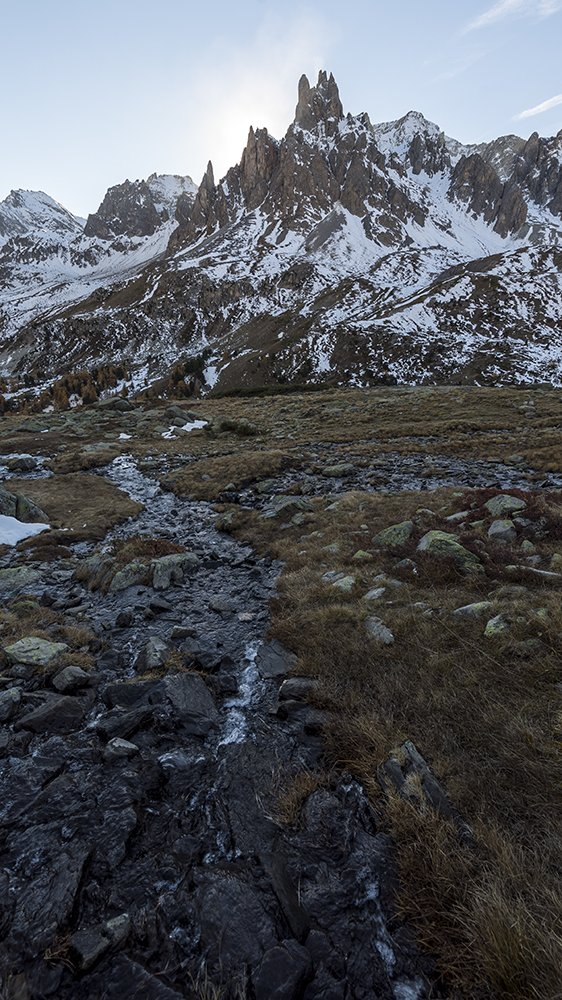 Picos del valle de la claree
