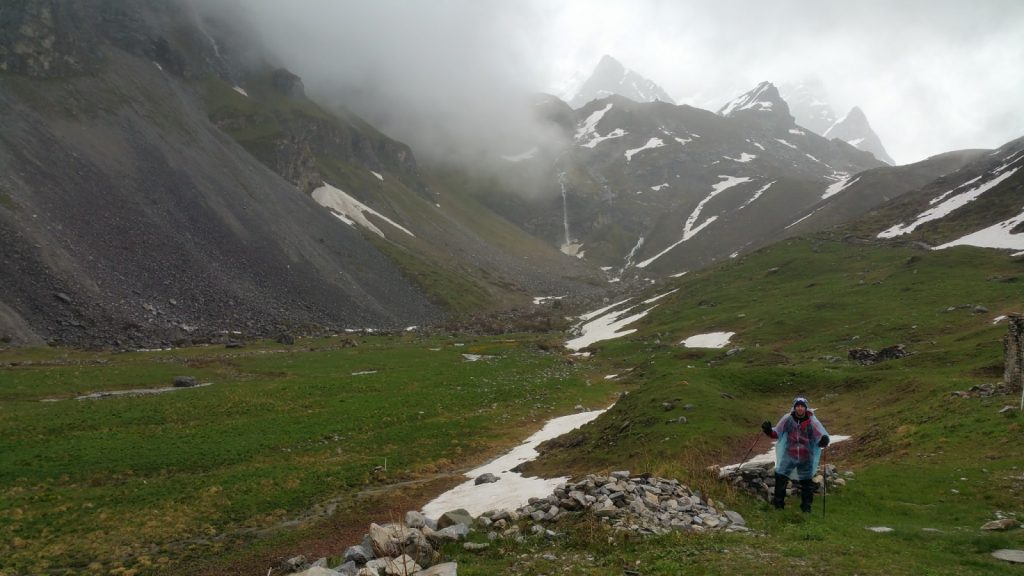 Parque nacional de la  vanoise, alpes franceses