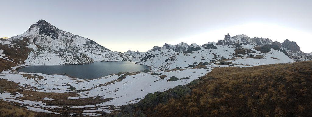 panoramica Lago Long, lac long