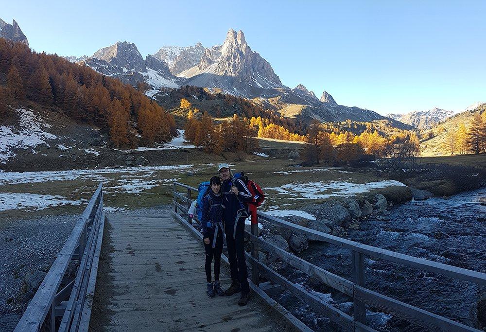 valle de la claree alpes