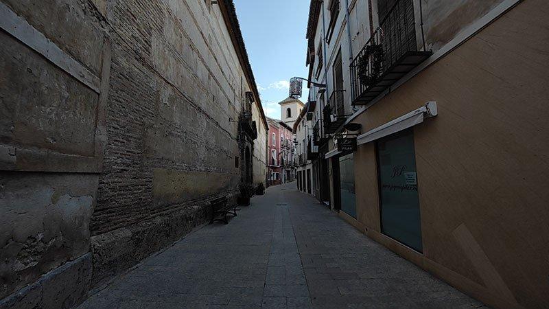 Calle mayor, Caravaca de la Cruz