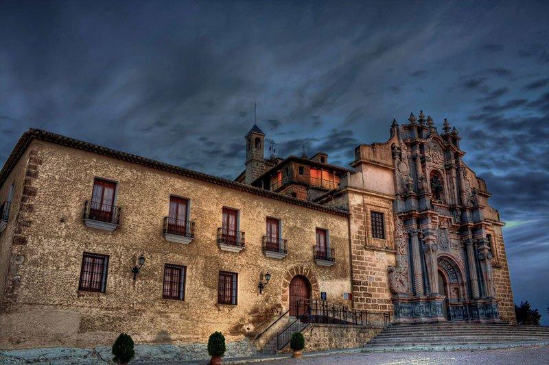 Basílica de la Vera Cruz Castillo de Caravaca.
