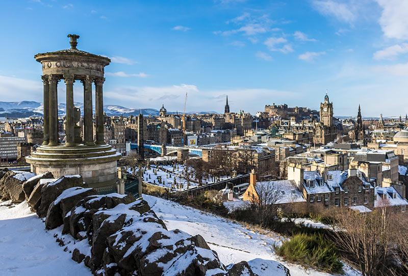 Edimburgo, ciudades de escocia
