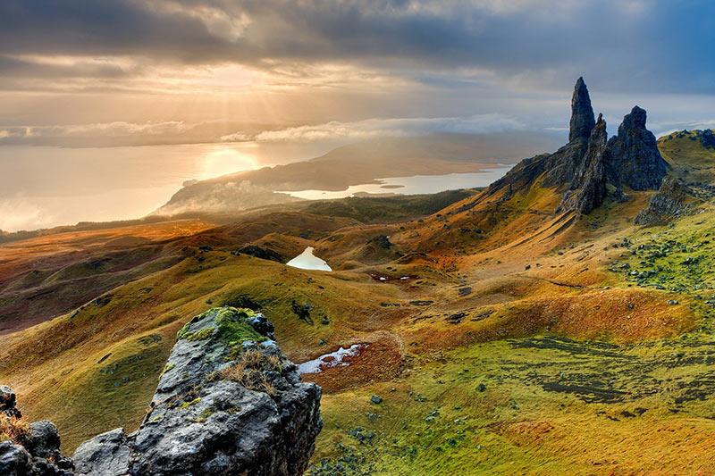 isla de skye, ciudades de escocia