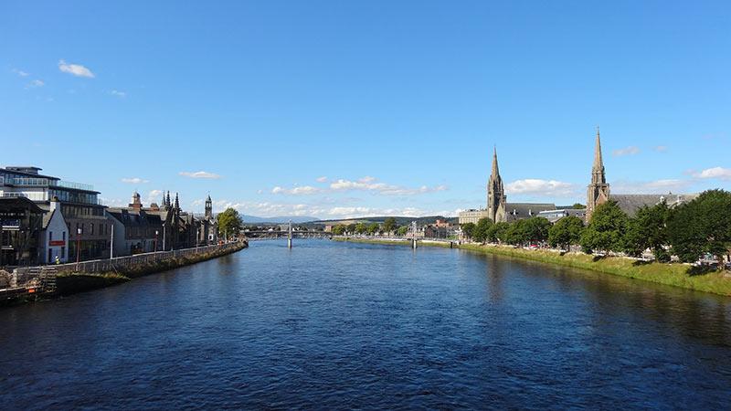 Inverness, ciudades de escocia
